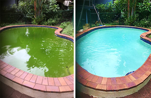 Before-and-After - Swimming Pool Maintenance & Repairs in Grove, NT